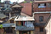 Nepal, Patan, houses near Durbar (Palace) square. — Stockfoto