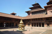 Nepal, Patan, royal palace on Durbar square. — Stock Photo