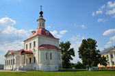 Voskresenskaya Church on the Cathedral square in Kolomna kremlin, Moscow region. — Stock Photo