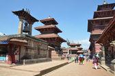 Nepal,Patan, Durbar square — Stock Photo