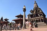 Népal, patan, durbar square — Photo