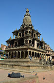 Nepal, Kathmandu, Bastinpur sguare, the old Royal Palace of Hanuman Dhoka — Stok fotoğraf