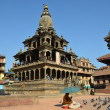 Nepal, Patan, Stone Temple of KrishnMandir at Durbar square — Stock Photo #36959005