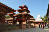 Nepal, Kathmandu, Darbar sguare — Stock Photo
