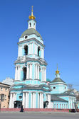 Moscow, the Church of the life-giving Trinity in Serebryaniki — Stock fotografie