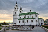 Belarus, Holy Spirit Cathedral in Minsk — Stock Photo