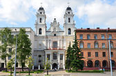 Cathedral of the holy name of the Blessed Virgin Mary in Minsk, Belarus — Stock Photo
