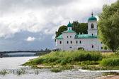 Russia, Pskov, Spaso-Preobrajensky Mirojsky monastery — Photo