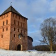 Stock Photo: VladimirskayTower in Novgorod Kremlin