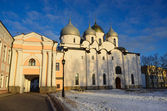 Novgorod, Sofiysky cathedral in the kremlin — ストック写真