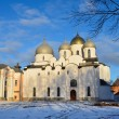 Novgorod, Sofiysky cathedral in the kremlin — Stock Photo