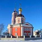Trinity cathedral in Varnitsky monastery in Rostov in winter, Golden ring of Russia — Stock Photo #39352019