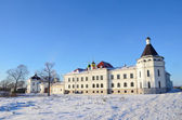 Varnitsky monastery in Rostov in winter, Golden ring of Russia — Stockfoto