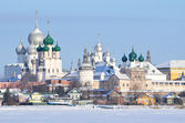 Rostov Kremlin in winter, Golden ring of Russia — Stock Photo
