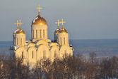 Cattedrale di uspensky a vladimir, anello d'oro di russia — Foto Stock