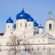 St. Bogolubsky monastery in Bogolubovo, Vladimir region in winter, Golden ring of Russia — Stock Photo #39642321
