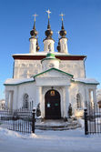 Suzdal, Tsarekonstantinovskaya Church, 1707 year, Golden ring of Russia — Stock Photo