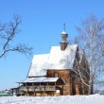 Suzdal, Nicolskaya church, in kremlin, Golden ring of Russia — Stock Photo #39979733