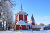 The Assumption Church in Suzdal in winter, 17 century, Golden ring of Russia — Stockfoto