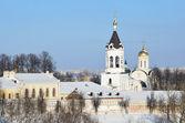 Nativity monastery in Vladimir in winter, Golden ring of Russia — Stock Photo