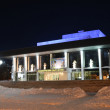 Academic theatre of dramin Vladimir at night — Stock Photo #40008943