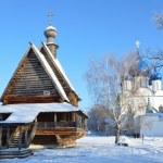 Suzdal, Nicolskaya church, in kremlin, Golden ring of Russia — Stock Photo #40023291
