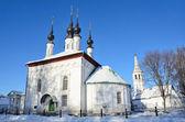 Suzdal, carekonstantinovskaya igreja, anel de ano 1707, ouro da rússia — Fotografia Stock