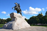 "St. Petersburg, ""the Bronze Horseman"" — Foto de Stock"