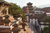 Nepal, views of Kathmandu, Royal Palace Hanuman Dhoka — Stock Photo
