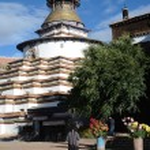 Tibet, Gyfndze, monastery Pelkor Chode, stupa Kumbum, 15 century — Stock Photo #42057343