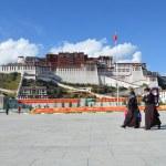 Tibet, Lhasa, Potala palace. — Stock Photo #42057817