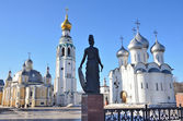 Vologda, Resurrection Cathedral and Saint Sophia Cathedral in the Kremlin — Stock Photo