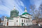 россия, святой богородицы церкви на сделку в вологде — Стоковое фото