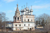 Russia,John Chrysostom Church in Vologda in the early spring — Stock Photo