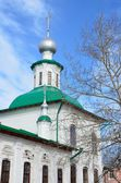 Russia, Holy Virgin church at a bargain in Vologda — Stock Photo