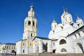 Spaso-Prilutsky monastery in Vologda in early spring — Stock Photo