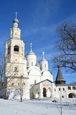 Spaso-Prilutsky monastery in Vologda in early spring — Stock Photo