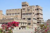 Yemen, Sana'a, the old city — Stock Photo