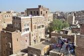 Yemen, Sana'a, old town — Stock Photo