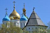 Novospassky kloster i moskva — Stockfoto