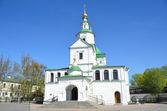 7 つのエキュメニカル協議会の聖の父親の教会。モスクワのダニーロフ修道院 — ストック写真
