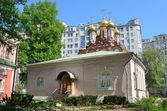 Church of St. Nicholas in Bersenevka in Upper Sadovniki, Moscow, Russia — 图库照片