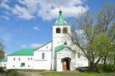 Uspenskaya church in Aleksandrovskaya Sloboda, Vladimir region, Golden ring of Russia — Stock Photo