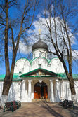 Troitsky cathedral in Aleksandrovskaya Sloboda, Vladimir region, Golden ring of Russia — Stock Photo