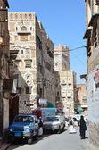 Jemenu, sany, stare miasto — Zdjęcie stockowe