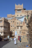 Yemen, Sana'a, old town — Stock Photo