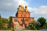 Moscow, Znamensky Cathedral in Znamensky monastery on Varvarka street — Stock Photo