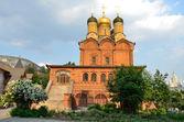 Znamensky Cathedral in Znamensky monastery on Varvarka street — Stock Photo