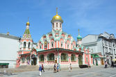 Moscow, Kazansky cathedral on Red square — Stock Photo