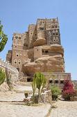 Jemen, het paleis van de aanstelling als imam in de wadi dhar in sana'a — Stockfoto